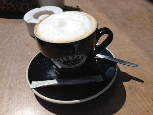 Met Annie aan de koffie bij Suus