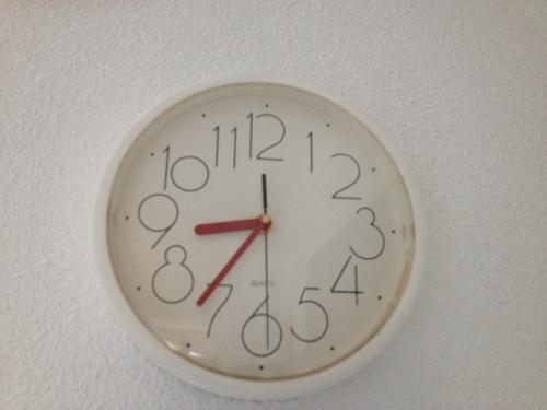Wow! hoe laat is het? Dat doen onrustige nachten met een mens.