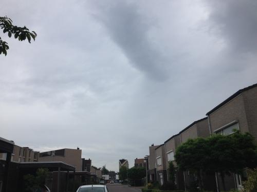 Waar is de zon vandaag?