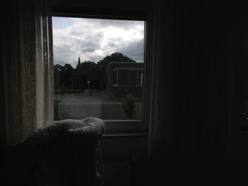 Dan maar zonder zonnig uitzicht beginnen aan de zaterdagse klusjes.