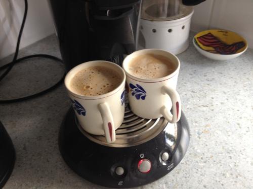 Ik zet koffie