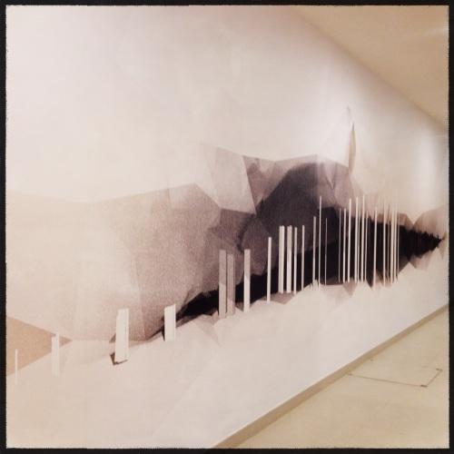 en een mooie muurschildering.