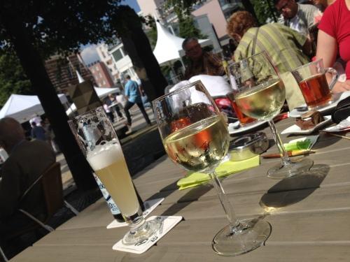 Tijd voor een wijntje..