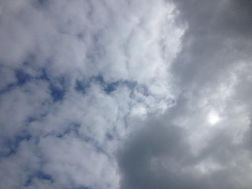 Zeg...zon..zo wordt het niets vandaag.