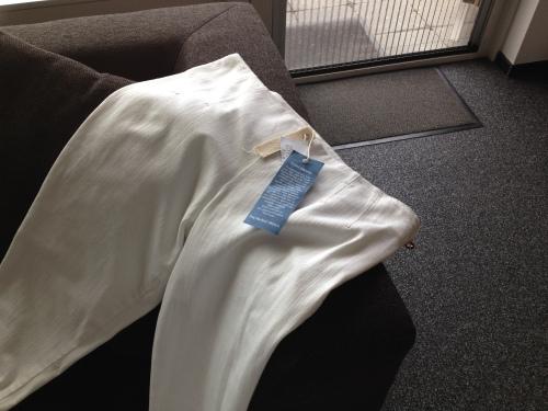 Eindelijk een broek gevonden die voldoet aan mijn hoge eisen.