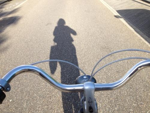 Kijk mij nou eens fietsen
