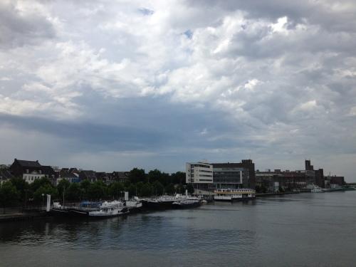 Dag Maastricht. je ziet er woest uit zo.