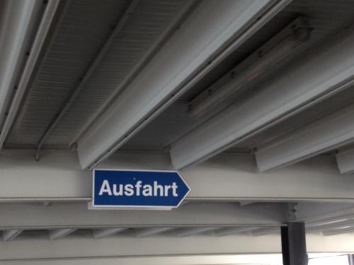 Hé! hier is ook een Ausfahrt Wendy Amelie..