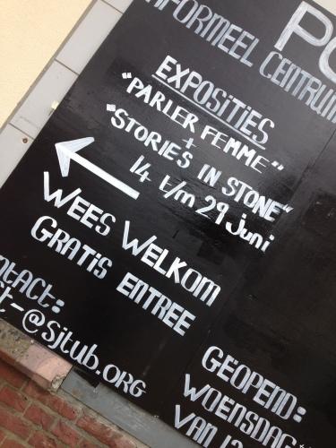 Loop ik meteen ook even bij Sjtub naar binnen om de nieuwe expositie te bezoeken.