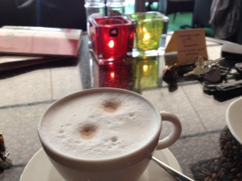 Cappuccino bij Jules