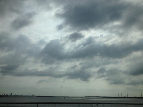 Nog een keer over het Hollandsch Diep, maar nu in de auto.