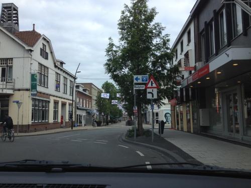 Het dorp is weer normaal bereikbaar.