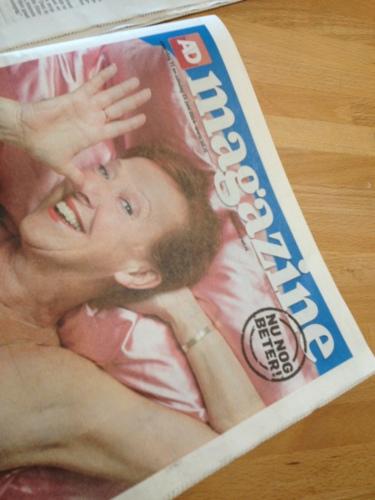 De bijlage van het AD ...nu nog meer een damesblad.