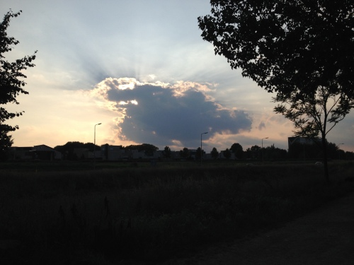 Dag zon, dag wolken..