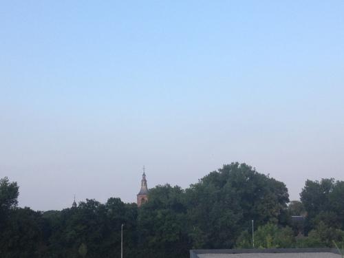 Dag toren, het was weer fijn. Dag dag, tot morgen.