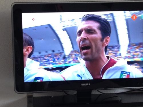 De man vindt de passie van Buffon geweldig