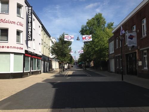 Het dorp is leeg.