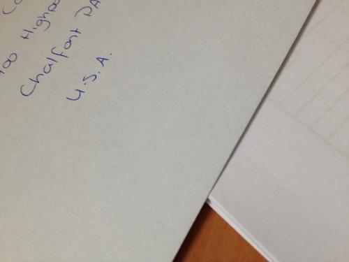 Op papier heb ik contact met het buitenland.