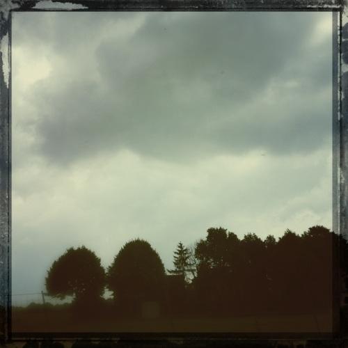 Als je een beetje met je ogen knijpt lijkt het herfst.