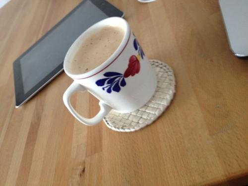 Na gedane inspanning is het goed koffie drinken