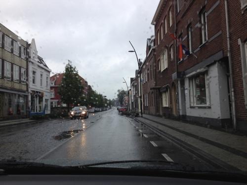 In Kerkrade is het nog geen haar beter.