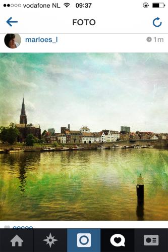 Spelen met filters. Maastricht als schilderij.