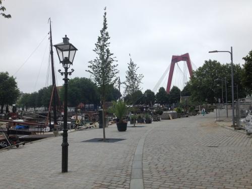 Oud en nieuw liggen zij aan zij. Dat maakt Rotterdam zo boeiend.