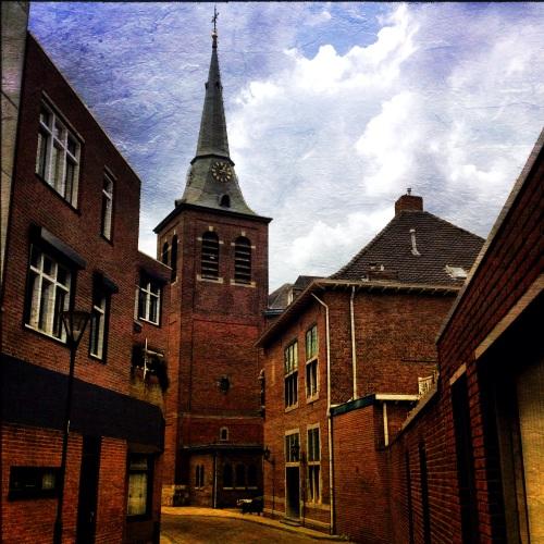 Het dorp heeft veel mooie  plekjes en overal is verbinding.