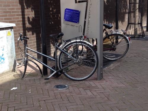 Lastig fietsen zo