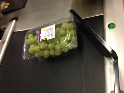 Druiven voor de lekkere trek.